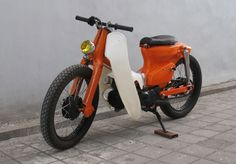 Honda C70 ✮ Custom Motorcycles  ✮ IslandMotorcycles.com ✮ Bali, Indonesia