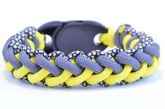 "Make the ""Jagged Zipper"" Paracord Survival Bracelet DIY - BoredParacord!"