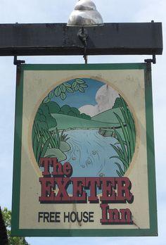 Newton Poppleford Exeter Inn pub sign | Flickr - Photo Sharing!