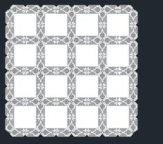 Mantel a GanchilloRef # Mantel a Ganchilloref # Mantel a Ganchilloref # 003 Mantel a Ganchilloref # 004 Mantel a Ganchilloref # 005 Crochet Patterns Filet, Crochet Borders, Macrame Patterns, Crochet Squares, Crochet Fabric, Crochet Quilt, Crochet Lace, Diy Crafts Crochet, Crochet Home Decor