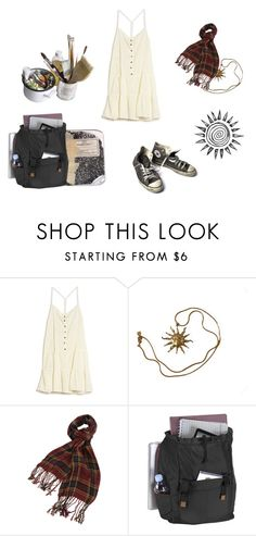 """Random"" by luna2015 on Polyvore featuring Current/Elliott, Mason's, Converse, Anne Klein, Forever 21 and Targus"