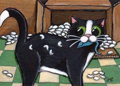 Художница Lisa Marie Robinson и ее кошки. Обсуждение на LiveInternet - Российский Сервис Онлайн-Дневников
