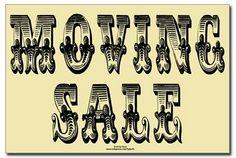 Moving Sale Signs Printable | view original image )