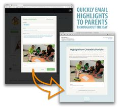 With FreshGrade you can quickly email parents highlights about what is going on with their child during the day. Great way to show parents what's happening in the classroom without creating extra work for the teacher. Extra Work, Parent Communication, Assessment, Highlights, Parents, Classroom, Teacher, Shit Happens, Digital