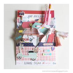 mmmmmnoose: SNAIL MAIL: UNA LOADED BAG PARA MILA Snail Mail Flipbook, Snail Mail Pen Pals, Diy Crafts For Girls, Diys, Envelope Art, Handmade Birthday Cards, Handmade Cards, Card Making Tutorials, Folded Cards