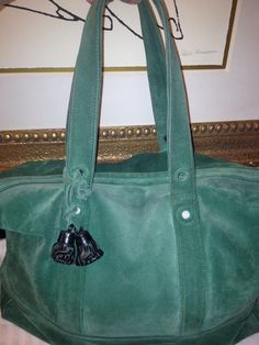 AUTHENTIC 3.1 PHILLIP LIM XLG GREEN SUEDE BAG, LAPTOP, IPAD,SCHOOL WORK, TRAVEL BAG REG 895.00 SALE 325.00 EMAIL ME @ SHALL02@HOTMAIL.COM THIS BAG IS GENTLY USED,.. BUT WILL TAKEN CARE OF, MORE PICTURES IF INTERESTED.. THANK YOU  SHAYNE