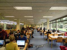 Sala de lectura de la Biblioteca del Campus de Vilanova