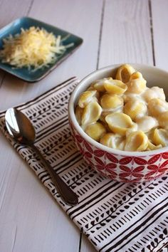 Shells and White Cheddar stove top recipe. Only three ingredients!
