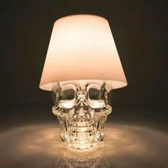 Crystal head vodka lamp | Satechi | http://www.earth911.com/home-garden/satechi/
