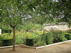 Garden by Gilles Clement in Blois, France; photo by enclose*ure. More at link.