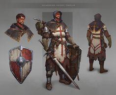 ArtStation - Knight, Anna Kharitonova