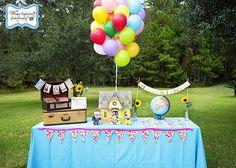 Fazendo a Minha Festa Infantil: Festinha Up Altas Aventuras