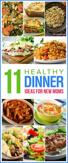 Being a new mom is hard & cooking dinner can feel almost like a battle. If you are nursing, then here are 11 healthy dinner ideas for new moms to to keep your milk supply up.