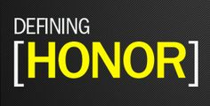 3 part series on honor by Pastor Randy Bezet. Part 1 - Honor.