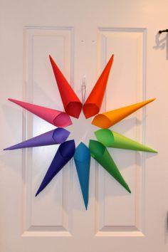 """Nine-Pointed Star """"Unity Wreath"""" Craft"""
