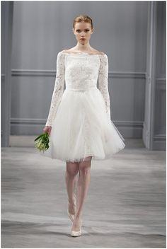 Jackie O Inspired wedding dress  on French Wedding Style Blog