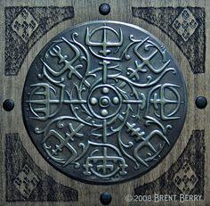 Brass Vegvisir, Viking Compass by *Vegvisir on deviantART – Norse Mythology-Vikings-Tattoo Art Viking, Viking Life, Ancient Symbols, Ancient History, Pagan Symbols, History Medieval, Symbole Viking, Viking Culture, Old Norse