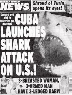 Hate Tabloids? What About the Weekly World News!?!? : I Hate ...