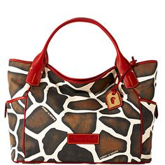 Dooney & Bourke animal fabric tote. Have this bag and it is fabulous!