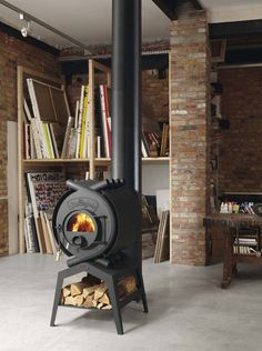 Bullerjan-classic1.jpg (447×600) #fireplace #interior #industrial