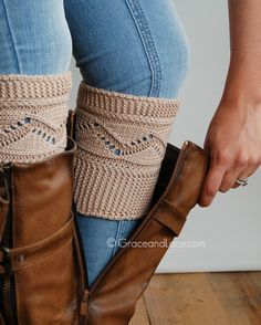Grace and Lace - Cable Knit Boot Cuff, $21.00 (http://www.graceandlace.com/all/cable-knit-boot-cuff/)
