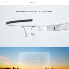 "Google Glass ""What It Does"" page"