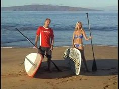 Stand Up Paddle is extremely fun and can burn up to 800 calories an hour! Here's a quick intro training and Instruction.