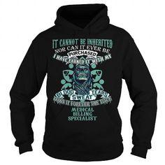 I Love MEDICAL BILLING SPECIALIST T shirts