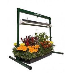 Grow Lights Indoor Garden Plant Starter System Fluorescent Vegetables Greenhouse