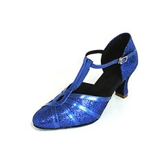 Customized Sparkling Glitter Keyhole Latin/Ballroom Performance Shoes (More Colors) – USD $ 29.69