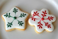 Royal Icing Christmas Cookies | Christmas Cookies Royal Icing | Cookies