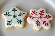 Royal Icing Christmas Cookies | Christmas Cookies Royal Icing | Cookies