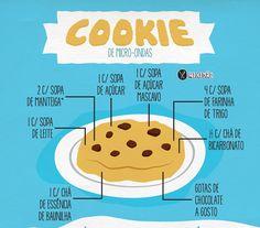 RECEITA-ILUSTRADA 166: Cookie de micro-ondas - http://mixidao.com.br/receita-ilustrada-166-cookie-de-micro-ondas/