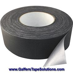 """Gaffer's Tape Solutions: Professional Matte Black Gaffer Tape 2""""x30yds. Heavy Duty, Strong & Flexible, This Hybrid Gaff Tape Is Waterproof & Leaves No Residue When Removed. Superior To Duct Tapes It Is Perfect For Both Professional & Home Use. Gaffer's Tape Solutions http://www.amazon.com/dp/B00Y23YYTY/ref=cm_sw_r_pi_dp_pSbEvb0QWFRF6"""