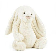 Jellycat Medium Bashful Cream Bunny | Wonder Works Toys