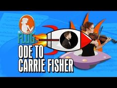 Felicia Day Plays Violin with Tom Lenk - The Flog, Ep 4 - YouTube