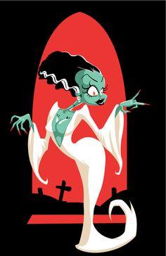 Bride of Frankenstein - Damn Fabris