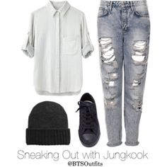 Sneaking Out with Jungkook