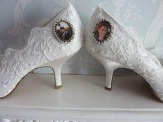 P1060730 Custom Made Shoes, How To Make Shoes, Bridal Shoes, Fashion, Bride Shoes, Fashion Styles, Bridal Shoe, Fashion Illustrations, Trendy Fashion
