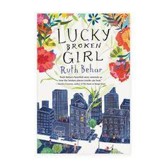 Penguin Books - Lucky Broken Girl - cover illustration by Penelope Dullaghan
