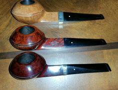 A World Famous Trio Matched Set of Rare Group 6 Dunhill Bulldog pipes. Dunhill Pipes, Pipes And Cigars, Pipe Smoking, Tobacco Pipes, Bourbon, Smokehouse, Bulldogs, Beards, Saga
