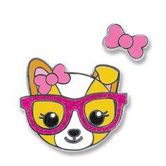 Charmit Posh Pup Enamel Pin Set - $6.00