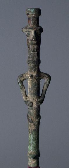 Unknown, Iranian  Goddess Finial, 799 BCE - 700 BCE Iranian Metalwork, made in Luristan Bronze  Memorial Art Gallery