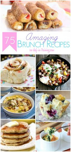 75 Brunch recipes
