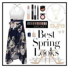 """""""Untitled #60"""" by annabethschreave ❤ liked on Polyvore featuring H&M, Gianvito Rossi, Rimmel, Christian Dior, NARS Cosmetics, MAC Cosmetics, BaubleBar, Bobbi Brown Cosmetics, Forever 21 and Blue Nile"""