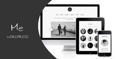 Me - OnePage Portfolio #WordPress Template ~ Only $25, live demo here: http://themeforest.net/item/me-onepage-portfolio/full_screen_preview/2203296?ref=ibrandstudio