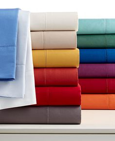 Charter Club Damask Solid 500 Thread Count Sheet Set - I like the gray