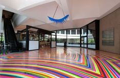 Tape Art on Floors - 05