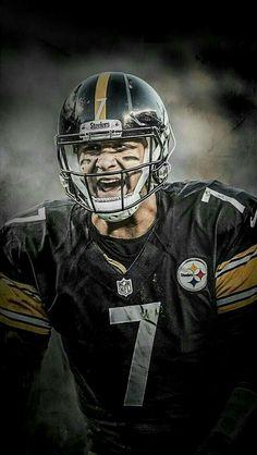 42681655f Big Ben Roethlisberger Qb.  7 D27A Pittsburgh Steelers Players