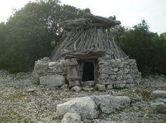 Il barraccu è la costruzione tipica degli ovili del Supramonte, la sua bellezza consiste nella sua forma caratteristica